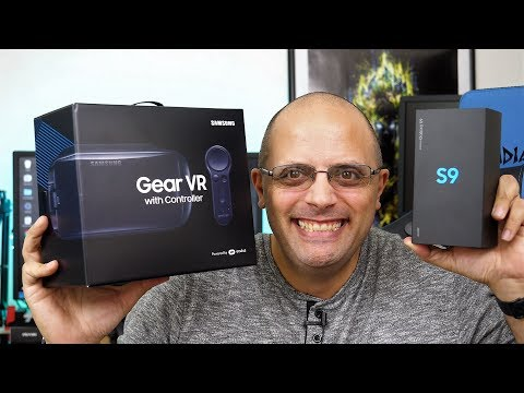 0b8401894 Official Retail Verizon Samsung Galaxy S9 & Gear VR Unboxing & Impressions  (Video & Audio Samples) - YouTube