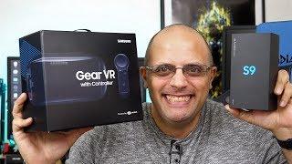 Офіційна роздрібна компанія Verizon Samsung Galaxy С9 & передач VR Розпакування і враження (зразки відео і аудіо)