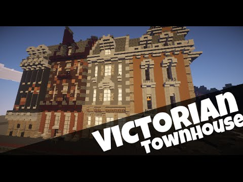 Minecraft Row Buildings
