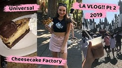 LA VLOG Pt 2!! - Universal, Cheesecake Factory and Venice Beach
