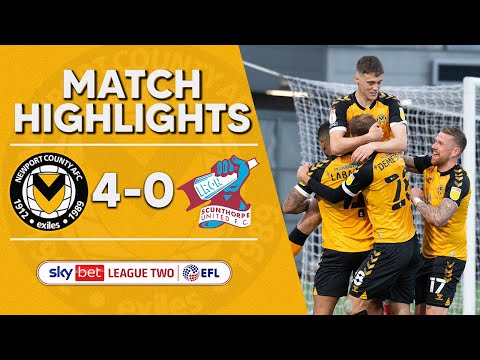 Newport Scunthorpe Goals And Highlights
