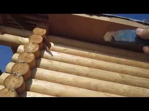 Как сделать карниз на фронтоне деревянного дома своими руками