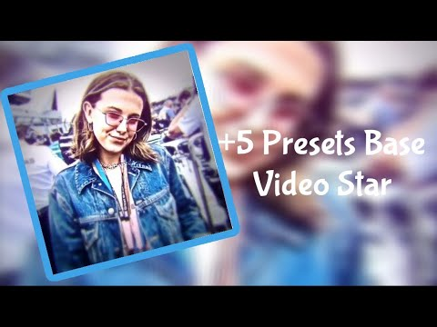 🐬+5 Presets Base Video Star