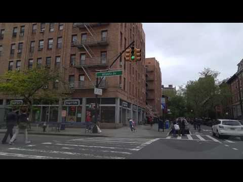Driving from Cobble Hill in Brooklyn to Maspeth in Queens,New York