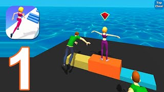 Parkour Race: Epic Run 3D - Gameplay Walkthrough Part 1 All Levels 1 - 14 (iOS, Android)