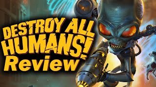 Destroy All Humans! Review (PS4, Xbox One, PC) (Video Game Video Review)