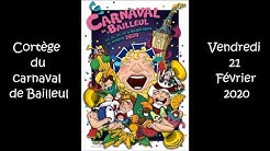 Cortège du carnaval de Bailleul 2020