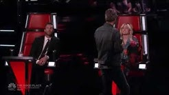 Miley Cyrus & Adam Levine singing 'Honey Bee' by Blake Shelton on The Voice