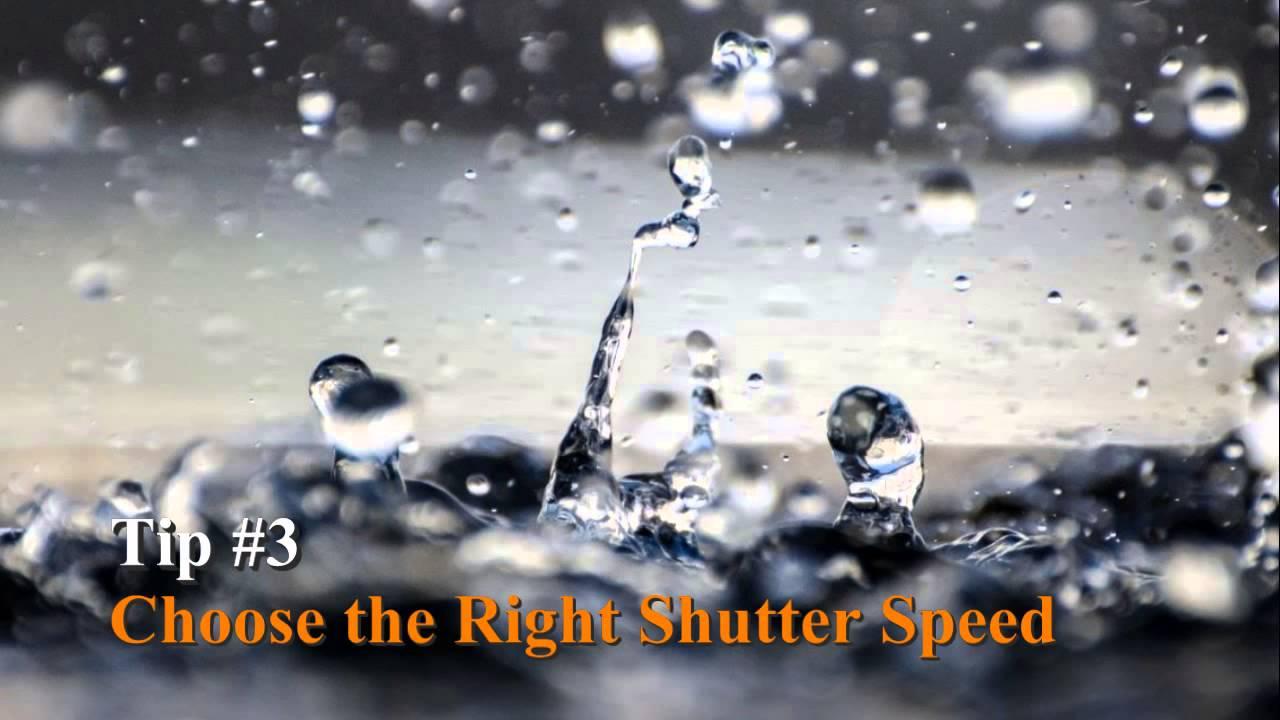 Rain Photography - YouTube