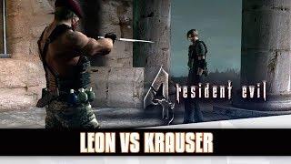 RESIDENT EVIL #22 - Grande Batalha Contra Velho Amigo De Leon (PC Pro Gameplay em Inglês)