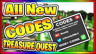*ALL* NEW TREASURE QUEST CODES | CANDY LAND UPDATE | ROBLOX (*HURRY*)!