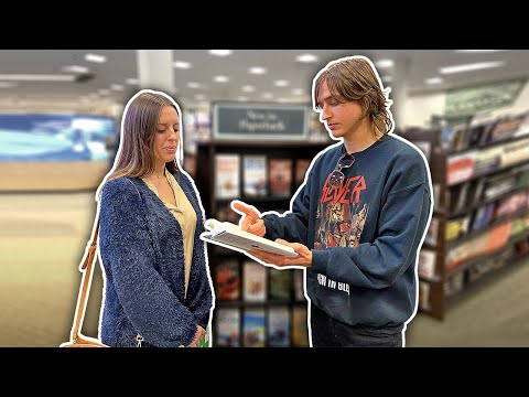 Picking-up Girls In Book Stores!