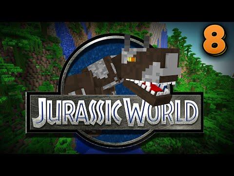 Minecraft Jurassic World - EPIC BOSS BATTLE!!! - Episode 8 |