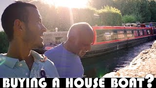BUYING A HOUSE BOAT? UK DAILY VLOG (ADITL EP389)