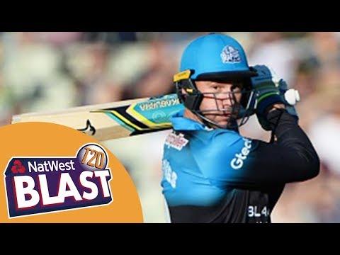 Thrilling Finish To High-Scoring Game - Birmingham v Worcestershire NatWest T20 Blast 2017