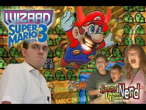 The Wizard & Super Mario Bros  3 - Angry Video Game Nerd - Episode 46