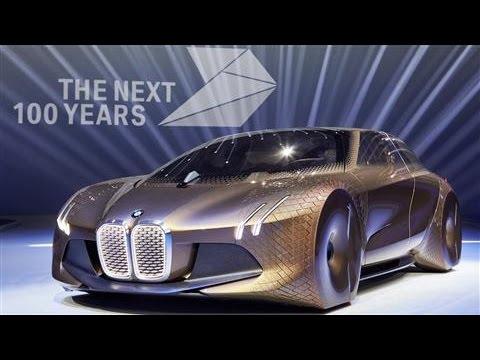 BMW Unveils Futuristic Concept Car