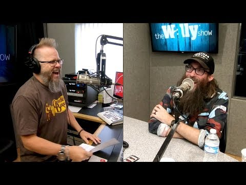 Crowder Talks Beards, Ghosts and Red Letters