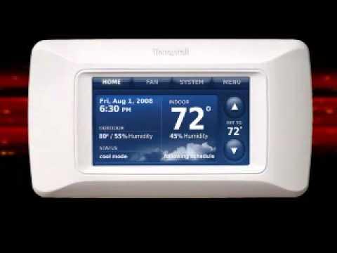 honeywell prestige installation video youtube rh youtube com Honeywell Prestige Touchscreen Thermostat Honeywell Prestige Thermostat Problems