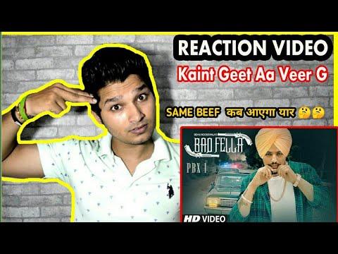BADFELLA REACTION VIDEO | SIDHU MOOSE WALA BADFELLA REACTION | Sidhu Moose Wala Song Reaction