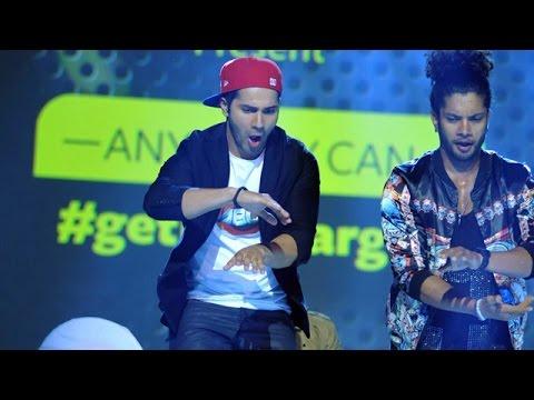 Sushant Pujari & Varun Dhawan Dances LIVE   ABCD 2 Promotions