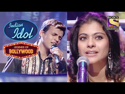 Kajol को Abhijeet की यह Performance लगी Fabulous!   Indian Idol   Legends Of Bollywood