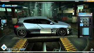 NFS World - Some vinyl tips/tricks [Part 7: Metal plates and rivets]