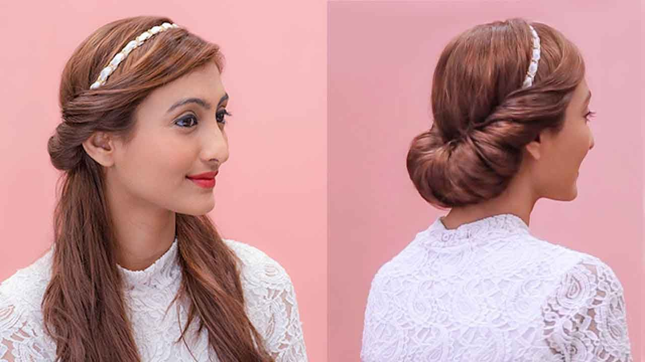 hair band styles for hair hairstyles using a hairband grecian updos 1825
