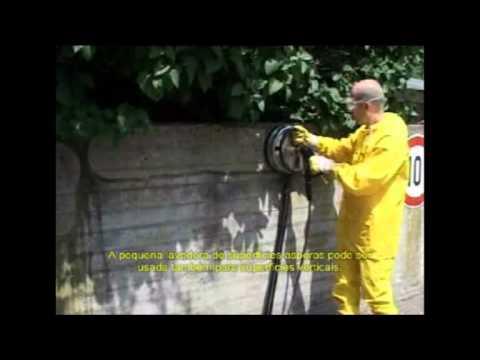 Karcher - Lavadoras de Alta Pressão - Desinferrujando e Limpando Paredes