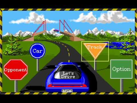 Stunts (PC DOS) Longplay