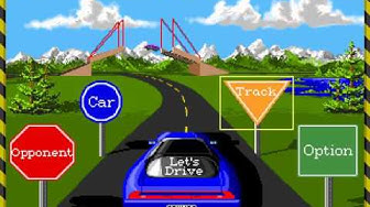 Stunts (PC DOS) longplay