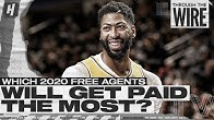 Which 2020 NBA Free Agents Will Get Paid The Most? | Through The Wire Podcast