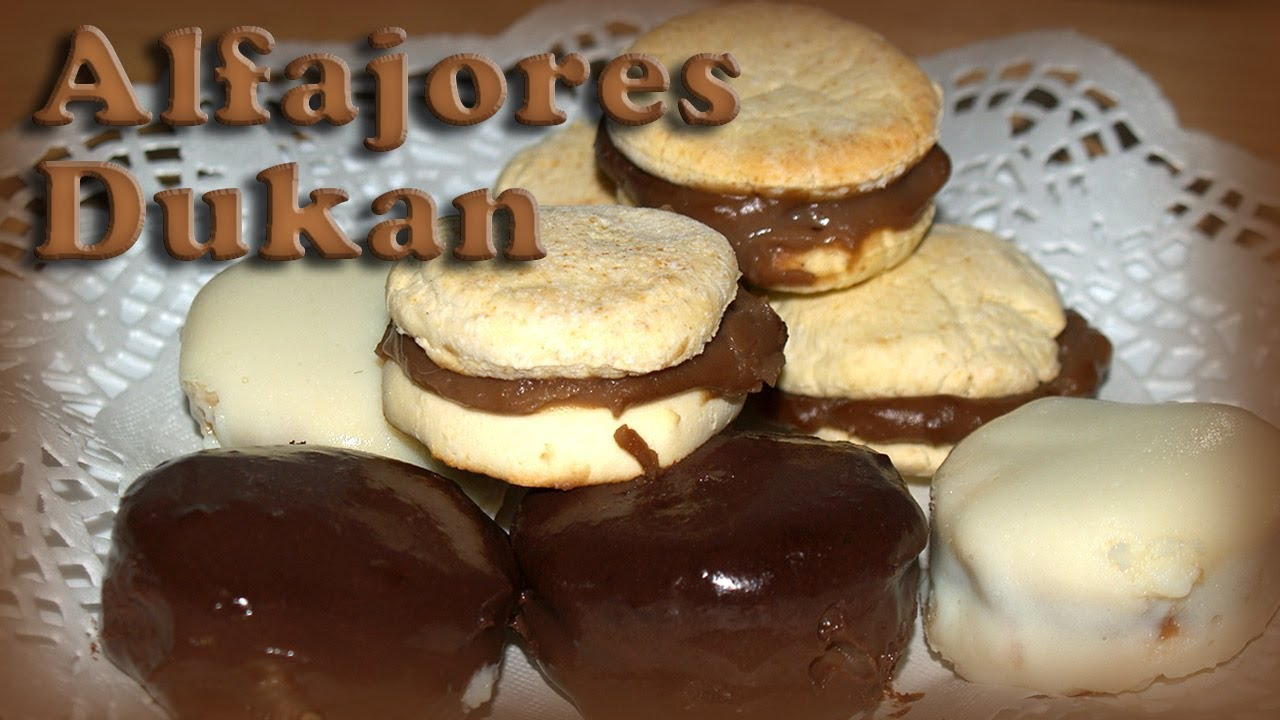 Alfajores de dulce de leche Dukan - Receta Fase Crucero - - YouTube