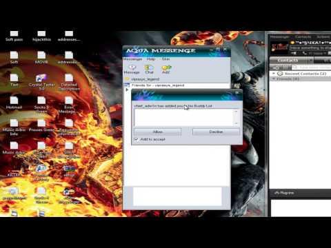AQua Messenger 1 0 0 5   Yahoo Japan Chat Client Test By H A K E E M  Www Viprasys Org