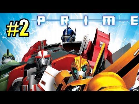 Трансформеры Прайм {Transformers Prime The Game} часть #2 — Гонки по ХайВею