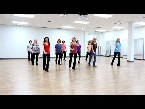 Holding Hands Together - Line Dance (Dance & Teach In English & 中文)