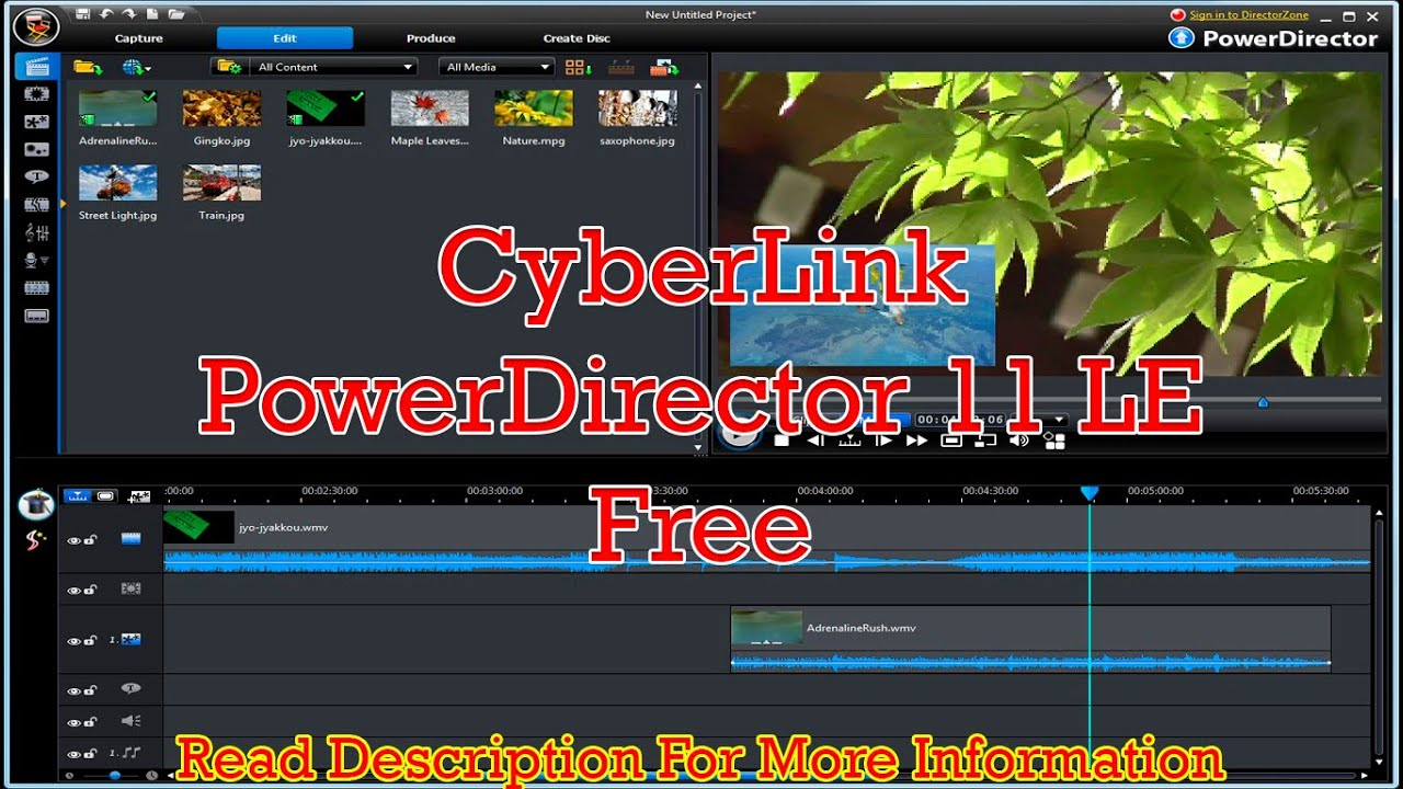Cyberlink powerdirector 11 deluxe free download panhaylan for Cyberlink powerdirector 11 templates free downloads