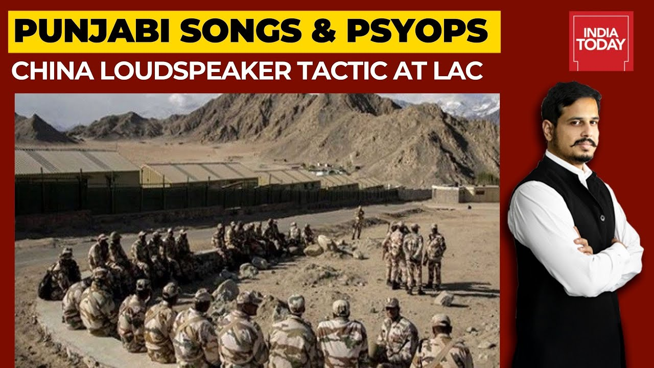 Why Chinese Troops Played Punjabi Songs At Ladakh Forward Posts?   Newstrack With Shiv Aroor