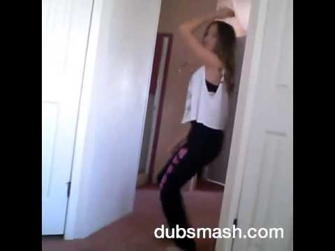 12 year old girl dancing to slow motion