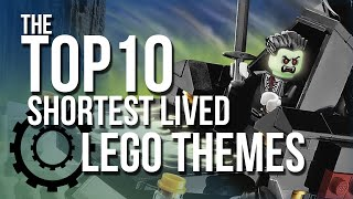 Top 10 Shortest Lived LEGO Themes