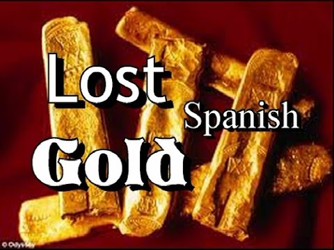 LOST SPANISH GOLD !!!!! Found with GMT Metal Detector. ask Jeff Williams