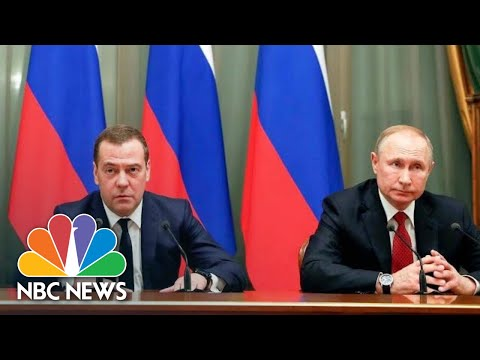Russian Government Resigns To Make Way For Vladimir Putin's Constitutional Changes   NBC News