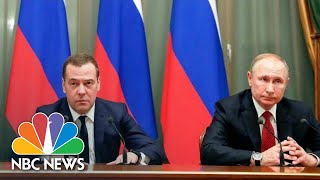 Russian Government Resigns To Make Way For Vladimir Putin's Constitutional Changes | NBC News