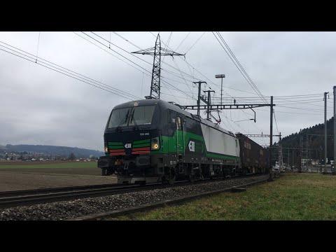 [FR/DE] Trafic ferroviaire/Bahnverkehr Hendschicken - 06.01.2018 - Transports Publics Suisses