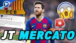 Lionel Messi a annoncé au FC Barcelone qu'il voulait partir | Journal du Mercato