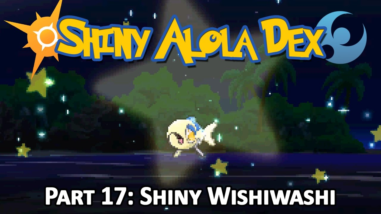LIVE!] Shiny Wishiwashi after a 118 Chain on Brooklet Hill + ...