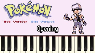 Opening - Pokémon Red/Green/Blue/Yellow [Synthesia]