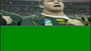 south africa vs england national anthem rugby 2007 final