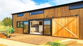 Gorgeous Pohutukawa Tiny House New Zealand Builders' Show Home