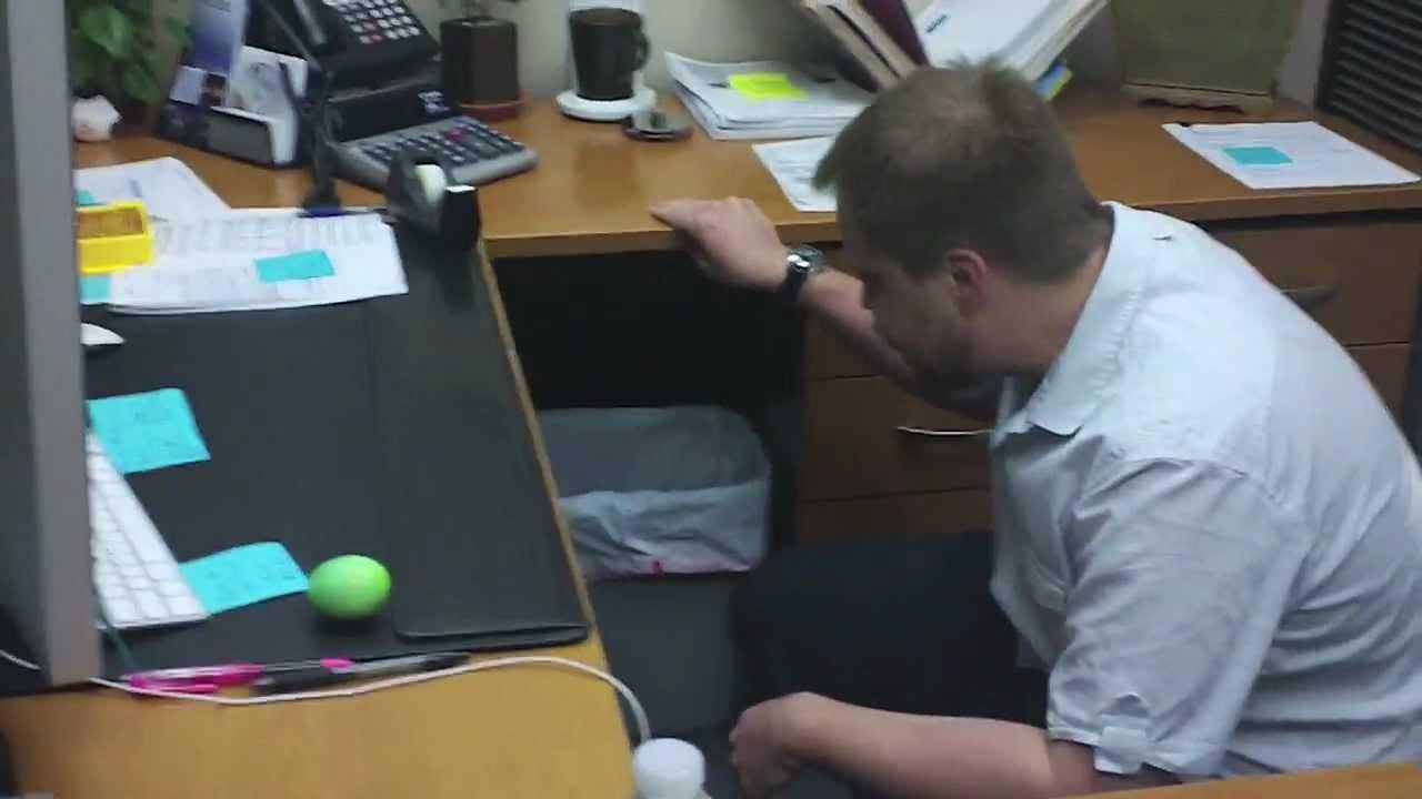 Office Shenanigans: Easter Egg Hunt - YouTube